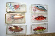 6 ct Bill Lewis Rat L Trap Fishing Lures 1/2 oz Multiple colors LP17