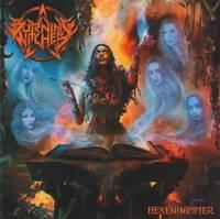 BURNING WITCHES - HEXENHAMMER (+2 Bonus)(2018) Swiss Power Metal CD +FREE GIFT