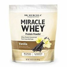 Dr. Mercola Miracle Whey Concentrate Protein Powder – Vanilla Flavor – Lean –
