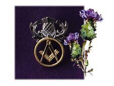 Celebrate Burns Night 2019 - Scottish Masonic Pin Badge
