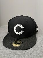 New era 59fifty 7 1/4 Crooks And Castles Snapback Hat