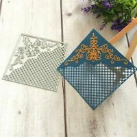 DIY Square Frame Metal Cutting Dies Stencil Scrapbook Album Paper Card Embossing