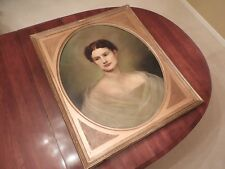 Rembrandt Peale - Original Oil Painting of William Henry Harrison's Daughter