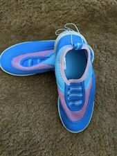New Girls Blue and Pink Water Shoes Kids' Size 2