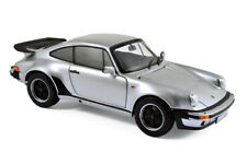 Norev  Porsche 911 Turbo 3.3L 1977 - Silver 1:18