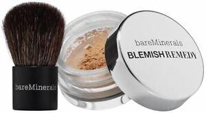 bareMinerals BLEMISH REMEDY Foundation Sample w/ Kabuki Brush [pick your shade]