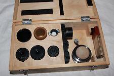 LOMO Microscope Polarizing Condenser Prisms Set Eyepiece MIN5 Mikroskop