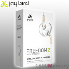 Genuine Jaybird Freedom 2 Bluetooth Wireless Buds Headset Earphone Gold White