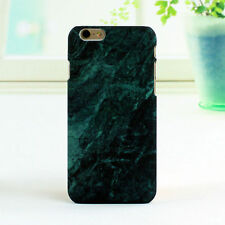 Glossy Hard Back Granite Marble Effect Case Cover For Apple iPhone 6 6s 7 8 Plus