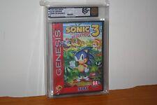Sonic the Hedgehog 3 (Sega Genesis) NEW SEALED MINT HARDCASE, GOLD VGA 85+ RARE!