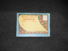 1920's Souvenir Postcard Folder Moncton New Brunswick Canada