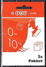 Hangboekje 5 pakketzegels 10  kg, emissie TNT-logo  *LASTIG MATERIAAL