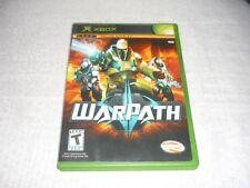 WarPath (Microsoft Xbox, 2006)    COMPLETE