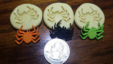 Mini Spider 3 set silicone molds for fondant, chocolate, clay, sugar paste 306