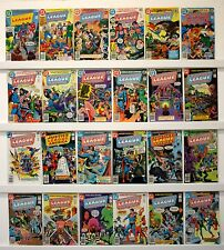 Justice League of America  Lot of 50 comics  All FVF or better  See below issues
