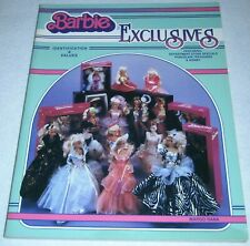 BARBIE EXCLUSIVES, Identification & Values, by MARGO RANA, Collector Books, 1995