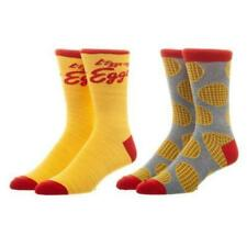 Bioworld Kellogg's Eggo Themed 2 Pairs Of Men's Crew Socks