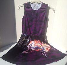 Star Wars Ship Scene Licensed Women's Junior Skater Dress - Purple/Multi sz S