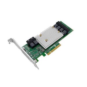 Adaptec 2293800-R Controller Card AHA--1100-24i 24 Internal 12Gbps 8xPCIe Gen3