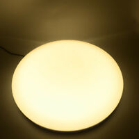 24W Soft Warm White LED Ceiling Light Downlight Round Fixture Lamp For Bedroom