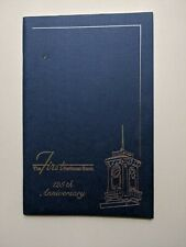 1989 First National Bank GREENCASTLE PA 125th Anniversary History Book/Genealogy