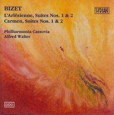 BIZET L'Arlesienne, Suites Nos. 1 & 2 / Carmen, Suites No. 1 & 2 CD - New