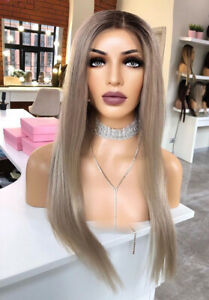 Human Hair Wig Imitation Lace Frontal High Quality Wig Monofilament Blonde