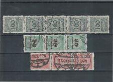 Gestempelte Briefmarken aus dem deutschen Reich (1919-1923) als Spezialsammlung