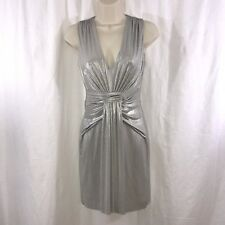Bailey 44 Silver Shark Mini Dress Size XS