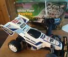 Vintage Radio Shack RC White Tiger Turbo Buggy - Remote Control w/ Original Box