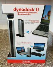 Toshiba Dynadock U Universal USB Connect Docking Station NIB