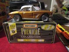 Matchbox Premier Collection 62 Corvette