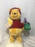 Vintage Telco Motionette Animated Winnie The Pooh Disney Christmas Figure