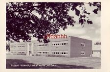 Rppc - Public School, Westhope, Nd.