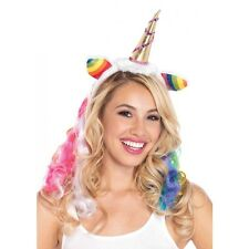 LA-A1962 Sexy Unicorn Headband Wig Halloween Costume Party Accessory