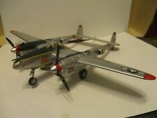 Franklin Mint Armour Collection P-38 bomber, loose, no box