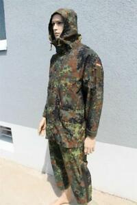 Original Bundeswehr Regenbekleidung Jacke und Hose Regenanzug 48/50 M/L GORETEX