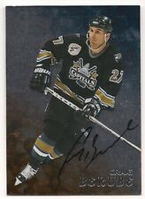 Craig Berube 98-99 In the Game Be A Player Autograph Signature