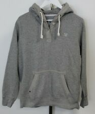 Crew Clothing Womens Grey Pullover Hoodie Size UK 12 ##H1 SE
