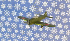 Custom Christmas Ornament WWII Fighter Plane Airplane