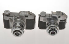 Bencini couple of Comet cameras: mod.II and CMF Relex for film 127, exc-/exc+++