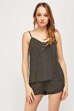 Ladies Ex H&M New Sleeveless Tops & Shorts Set Nightwear comfortable style Dress
