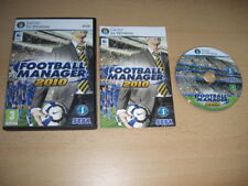 Football Manager 2010 PC/Mac DVD ROM FM FM2010-envoi rapide