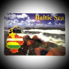 Fridge Magnet Baltic Country Travel Tourist Souvenir For Collection & Gift Z399