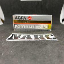 1x Agfa Portrait XPS 160 Professional 120 Film expired film