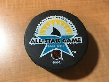 1997 NHL All Star Game San Jose Sharks Hockey Puck GK