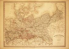 PRUSSIA- MONARCHIA PRUSSIANA- Incisione Originale 1800