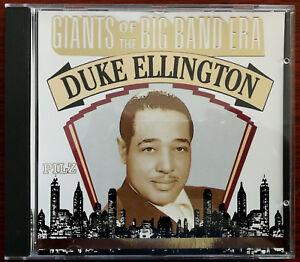 Duke Ellington Giants of the Big Band Era CD – 44 2043-2 – Mint