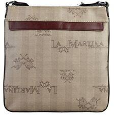 Borsa La Martina messenger tracolla Uomo Donna Body Bag Men Beige