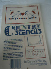 Country Stencils Country Geese Heart Pre-cut Reusable Stencil Mylar